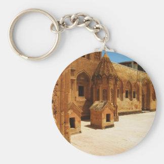Koşka Îshaq Paşa - Ishak Pasha Palace PICTURE Basic Round Button Keychain