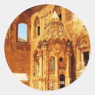 Koşka Îshaq Paşa - Ishak Pasha Palace PICTURE Classic Round Sticker