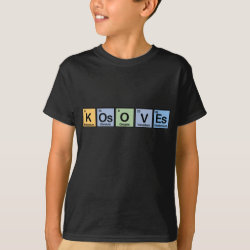 Kosoves made of Elements Kids' Hanes TAGLESS® T-Shirt