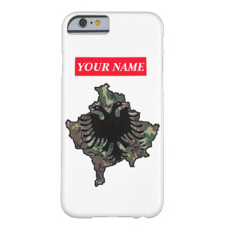 Kosovo Army iPhone 6 covering - with own name Barely There iPhone 6 Case