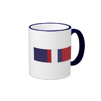 Kosovo Campaign Ribbon Ringer Mug