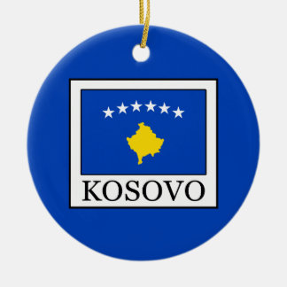 Kosovo Ceramic Ornament