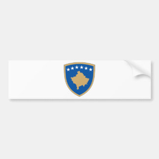 Kosovo coat of arms bumper sticker