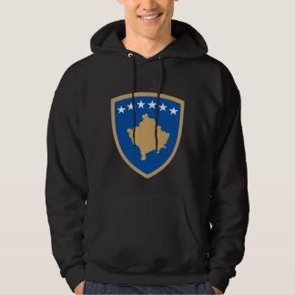 Kosovo coat of arms hooded sweatshirt