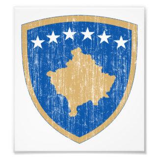 Kosovo Coat Of Arms Photo Print