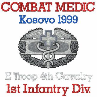 Kosovo Combat Medic Shirt Embroidered Polo Shirt