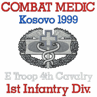 Kosovo Combat Medic Shirt Embroidered Shirts