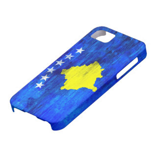 Kosovo distressed flag iPhone 5 covers