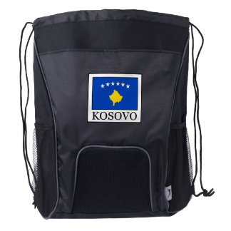 Kosovo Drawstring Backpack