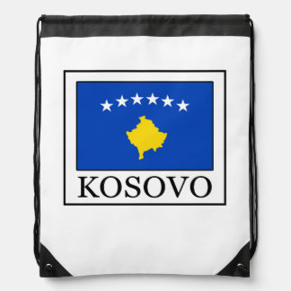 Kosovo Drawstring Bag