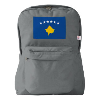 Kosovo Flag Backpack