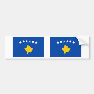 Kosovo Flag Bumper Sticker