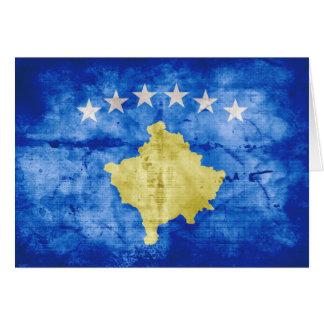 Kosovo Flag Greeting Cards