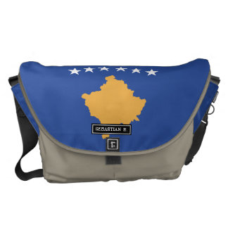 Kosovo Flag Courier Bag