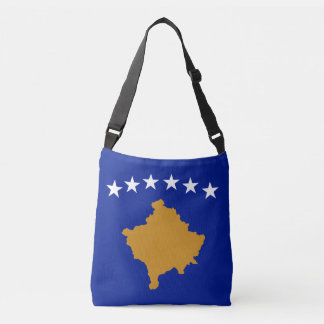 Kosovo Flag Crossbody Bag