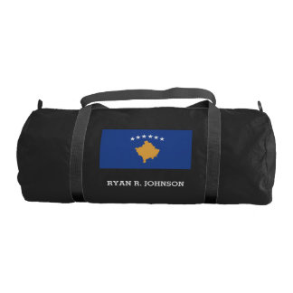 Kosovo Flag Gym Bag