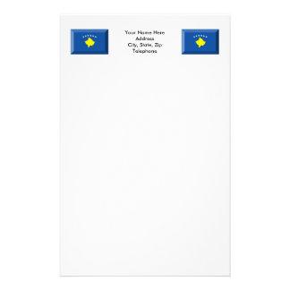 Kosovo Flag Jewel Stationery