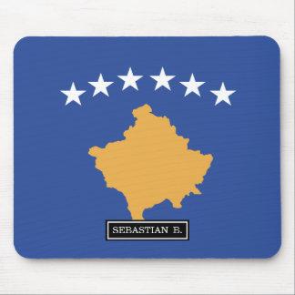 Kosovo Flag Mouse Pad