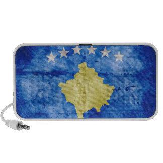 Kosovo Flag Notebook Speakers