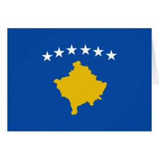 Kosovo Flag Notecard Stationery Note Card