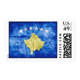 Kosovo Flag Postage