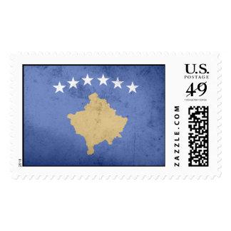KOSOVO Flag Postage Stamps