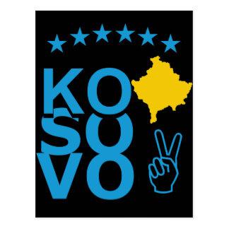 KoSoVo Flag Postcard