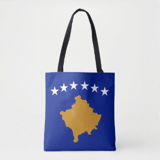 Kosovo Flag Tote Bag