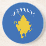 Kosovo Gnarly Flag Coaster