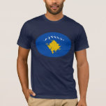 Kosovo Gnarly Flag T-Shirt