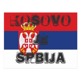 KOSOVO JE SRBIJA POSTCARD