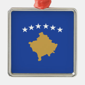 Kosovo – Kosovar Flag Metal Ornament