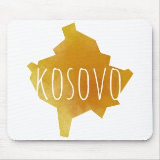 Kosovo Map Mouse Pad
