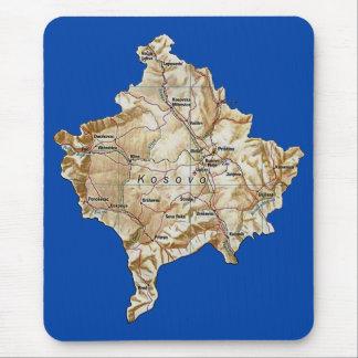 Kosovo Map Mousepad