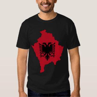 Kosovo Map Remeras