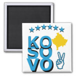 Kosovo Pride Fridge Magnets