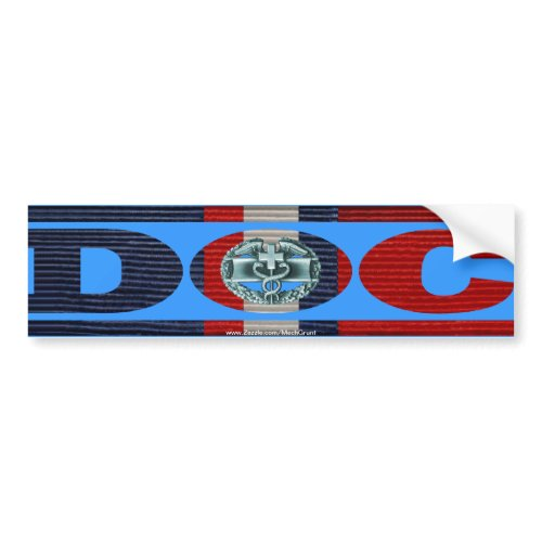 Kosovo Ribbon Doc - CMB zazzle_bumpersticker