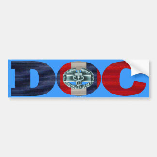 Kosovo Ribbon Doc - CMB Bumper Sticker