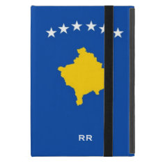 Kosovo Six Stars Flag On Blue Covers For Ipad Mini at Zazzle