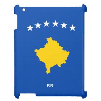 Kosovo Six Stars Flag On Blue iPad Case