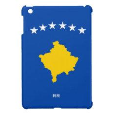 Kosovo Six Stars Flag On Blue Ipad Mini Covers at Zazzle