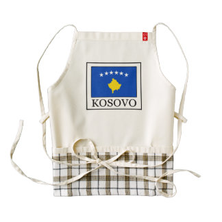 Kosovo Zazzle HEART Apron