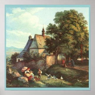 Kostel sv. Anny v Krupka in Teplice Poster