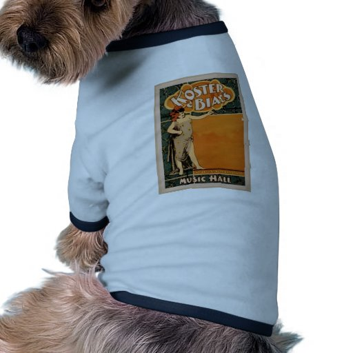 Koster & Bial's, 'Music Hall' Retro Theater Doggie Tee