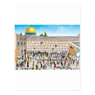 Kotel Jerusalem Postcard