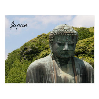 kotokuin buddha postcard