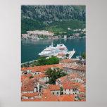 Kotor en el poster de Montenegro