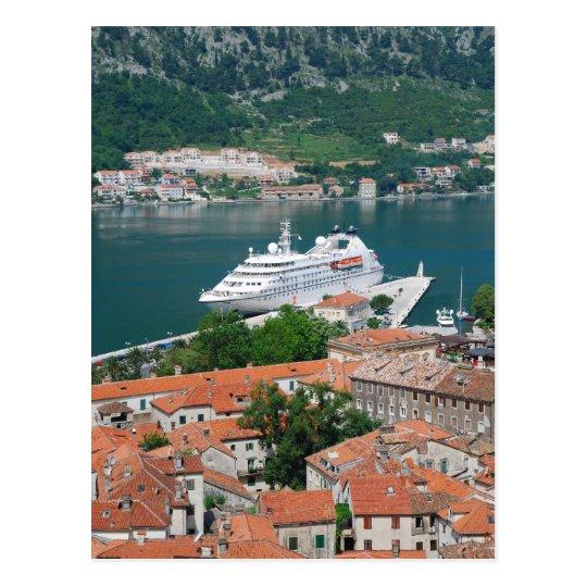 Kotor in Montenegro Postcard