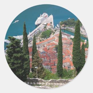 Kotor in Montenegro Sticker