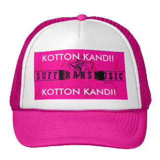 ¡KOTTON KANDI! ¡, KOTTON KANDI! KAP GORRO DE CAMIONERO